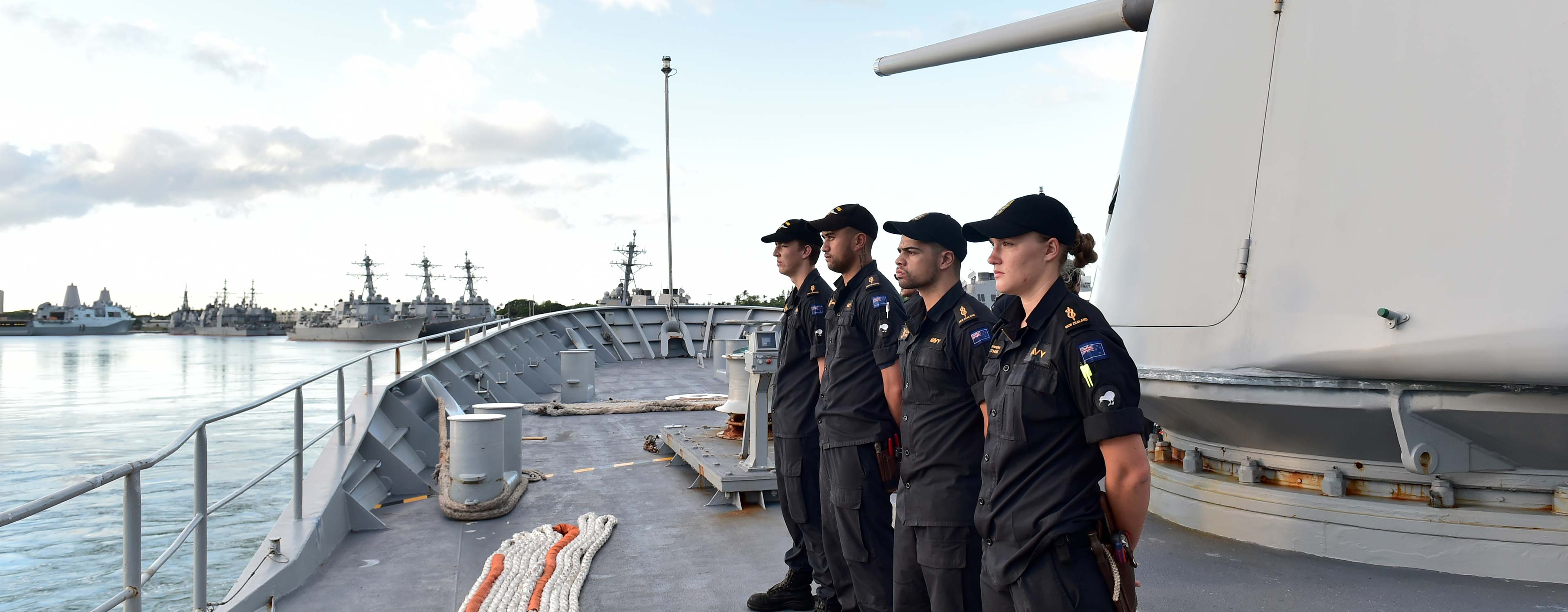 Salary & Working Conditions | New Zealand Navy | Defence Careers