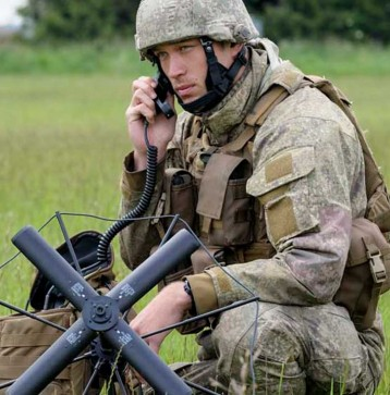 Army Communication Systems Operator square tn