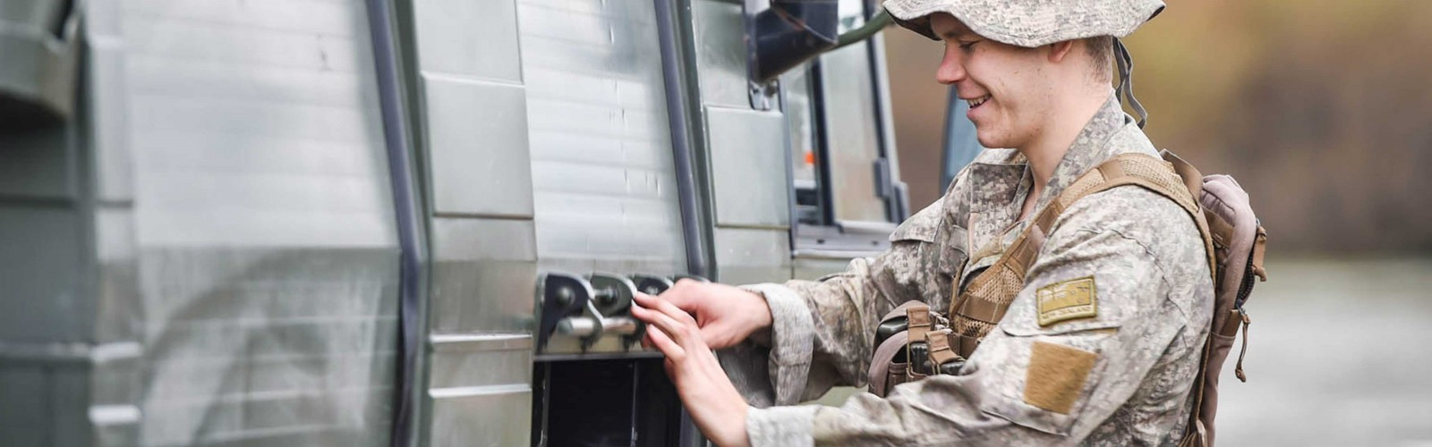Army Electrical Fitter full width
