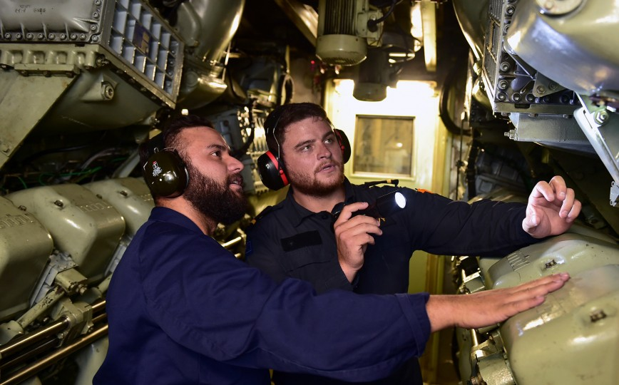 Marine Engineer Officer | Navy Engineering | Defence Careers
